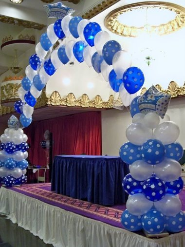 party balloon archway balloon decoration balloon decor letter and ...