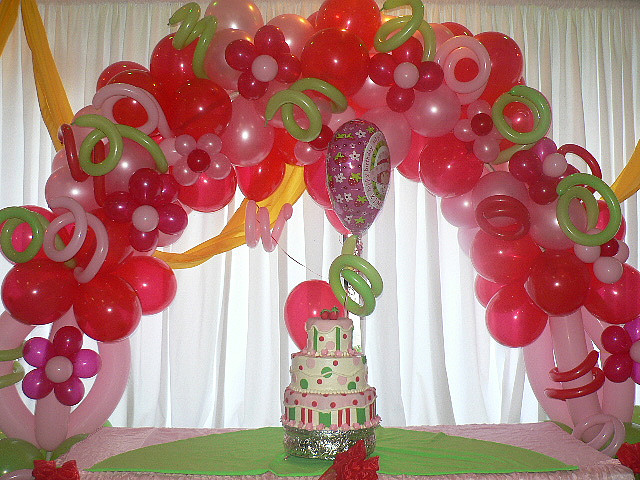 Balloons rb planners for Balloon arch decoration ideas